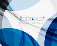 Fond bleu d'entreprise de vague pour vos affaires Photographie stock