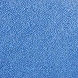 Fond bleu d'instruction-macro d'essuie-main de bain de tissu de Terry de peluche Photos libres de droits