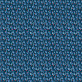 Fond bleu d'usine d'aquarelle Images libres de droits
