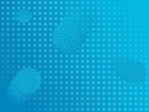 Fond bleu de bille illustration de vecteur