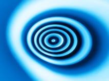 Fond bleu de bokeh d'abrégé sur remous illustration de vecteur