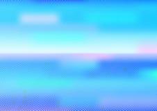Fond bleu de colorspot Illustration Libre de Droits