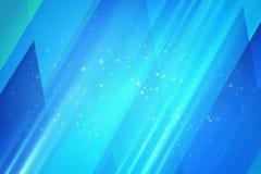 Fond bleu de Digitals illustration de vecteur