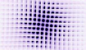 Fond bleu de Dots Designed With White Square illustration libre de droits