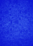 Fond bleu de feuille de brocard Photographie stock