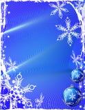 Fond bleu de glace Images stock