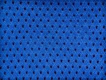Fond bleu de jersey Photographie stock libre de droits