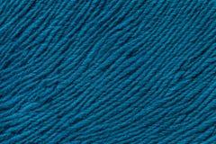 Fond bleu de matériel de textile mou Tissu avec la texture naturelle Photo libre de droits