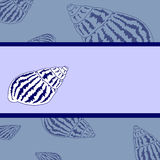 Fond bleu de mer Photo stock