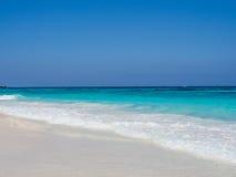 Fond bleu de mer Image libre de droits