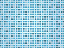 Fond bleu de mosaïque Images stock