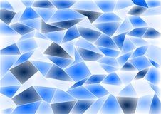 Fond bleu de mosaïque de tuile de vecteur Photographie stock libre de droits