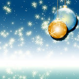 Fond bleu de Noël illustration stock