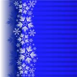 Fond bleu de Noël illustration libre de droits