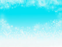 Fond bleu de Noël de couleur Image libre de droits