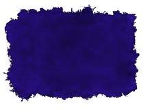 Fond bleu de peinture Photos libres de droits