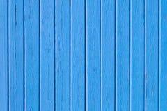 Fond bleu de peinture de planche en bois image libre de droits