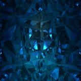 Fond bleu de pierre gemme de bijoux Photos libres de droits