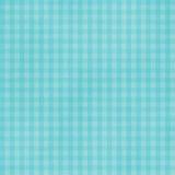 Fond bleu de plaid Photo libre de droits