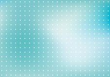 Fond bleu de point Photographie stock libre de droits