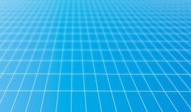 Fond bleu de réseau Image libre de droits