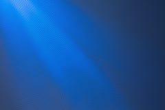 Fond bleu de réseau avec des faisceaux de lumière Photos libres de droits