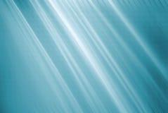 Fond bleu de rayon Images libres de droits