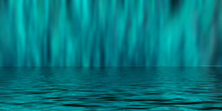 Fond bleu de tache floue Images stock