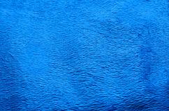 Fond bleu de tapis de tissu Images stock