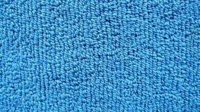 Fond bleu de tapis Texture Image stock