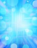 Fond bleu de Techno Photographie stock