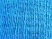 Fond bleu de textile Image stock