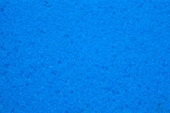 Fond bleu de texture d'éponge Photo stock