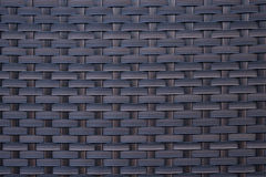 Fond bleu de texture de rotin Images stock