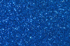 Fond bleu de texture de scintillement Image stock