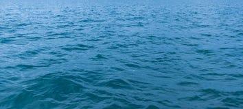 Fond bleu de texture de mer Image libre de droits