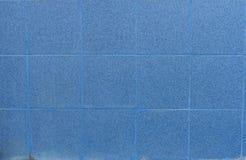 Fond bleu de texture de tuiles photo libre de droits