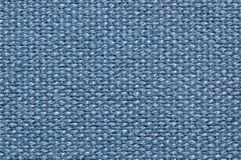 Fond bleu de tissu Photos stock