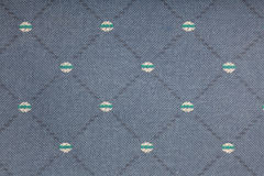 Fond bleu de tissu Photo stock