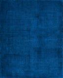 Fond bleu de tissu Image libre de droits