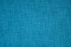 Fond bleu de tissu Photos libres de droits