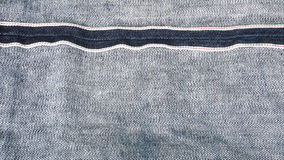Fond bleu de tissu de jeans de denim images libres de droits