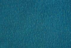 Fond bleu de tissu de laine des vêtements Images stock