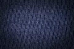 Fond bleu de toile images stock