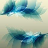 Fond bleu de vintage abstrait pour la conception Photo stock