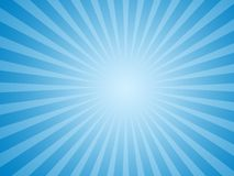 Fond bleu du soleil Photo stock