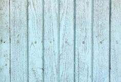 Fond bleu en bois de cru Photographie stock libre de droits