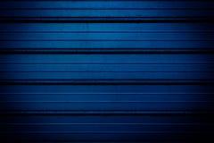 Fond bleu en métal Photo libre de droits