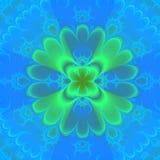 Fond bleu et vert illustration de vecteur