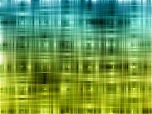 Fond bleu et vert abstrait Photos libres de droits